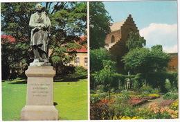 Odense - The Fairy-tale Park - H.C. Andersen Statue, Cathedral -  (Danmark) - Denemarken