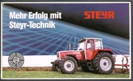 Vignette   Aufkleber   Steyr Traktor - Vignetten (Erinnophilie)