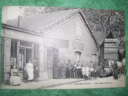 TRES RARE - CHARENTON - RUE SAINT EMILION - CHOCOLAT LOUIT - - Charenton Le Pont