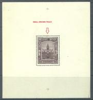 BELGIUM - MNH/**. - 1936 - BORGERHOUT - COB BLOC BLOCK 5A  -  Lot 19984 - SMALL BROWN TRACE - LOW PRICE !!! - Blocks & Sheetlets 1924-1960