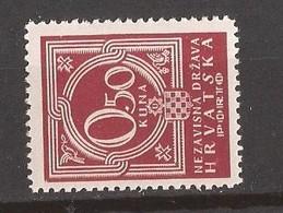 1941  7  PORTO     CROAZIA KROATIEN  MNH  LUX - Croazia
