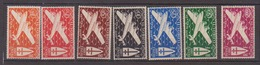 COTE DES SOMALIS      N° YVERT  :   PA 1/7    NEUF SANS CHARNIERE        ( NSCH  1/37  ) - Côte Française Des Somalis (1894-1967)