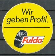 Vignette  Aufkleber  Fulda - Vignetten (Erinnophilie)