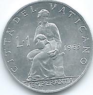 Vatican City - Paul VI - 1963 - 1 Lira - KM76.1 - Vatican