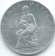 Vatican City - Paul VI - 1963 - 1 Lira - KM76.1 - Vaticaanstad
