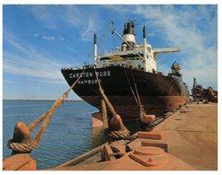 (ED 63) Australia Postcards - WA - Port Hedland - Iron Ore Ship Carsten Russ - Petroliere