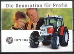 Vignette  Aufkleber  Steyr Traktor 9094 - Vignetten (Erinnophilie)