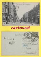 CPA  ROUBAIX 59 - Rue Du Grand-Chemin - Tramway - Commerce Animée - 1920 - Roubaix