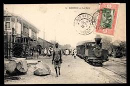 SOUDAN FRANÇAIS, MALI, Bamako, Gare Ferroviaire, Train à Vapeur - Mali
