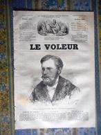 LE VOLEUR 03/07/1884 ALEXANDRE DUMAS LA TULIPE NOIRE GUILLAUME ALEXANDRE PRINCE ORANGE SERGE DE RUSSIE JULES COUTANT SCU - Kranten