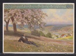 Dt.Reich Paul Hey, Kunstlerkarte Nr. 904, Die Bäume Grünen überall , Ungebraucht - Hey, Paul