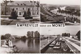 CPSM   AMFREVILLE SOUS LES MONTS - Francia