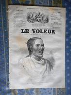 LE VOLEUR 10/07/1884 ALEXANDRE DUMAS LA TULIPE NOIRE SOUDAN ROI JEAN ABYSSINIE LUTOY PRINCE VICTOR BONAPARTE - Kranten