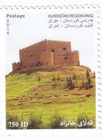 Iraq KURDISTAN REGION New 2018, Castel 1v.compl.set MNH- Bad Perforat.Scarce MNH- SKRILL PAYMENT ONLY - Iraq