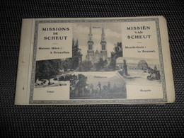 Bruxelles ( 2 )  Brussel  Molenbeek ?  Anderlecht ?  Missions De Scheut - Carnet Avec 12 Cartes Postales - St-Jans-Molenbeek - Molenbeek-St-Jean