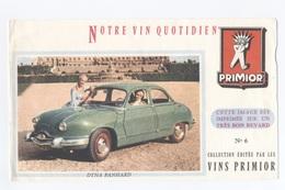 BUVARD AUTO DYNA PANHARD  VIN --  Z900 - Auto's