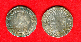 ALLEMAGNE - GERMANY - DEUTSCHLAND -  BADEN DURLACH - GEORG FRIEDRICH -24 KREUZER? 1621 - 6,13Gr - +/- 28,7mm  - RARE - Small Coins & Other Subdivisions