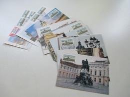 Berlin 1987 ATM / Automatenmarken Auf Maximumkarten MK 19 Stk. + 2 Belege Luftpost Charlottenburger Schloss - [5] Berlijn