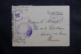 ETATS UNIS - Enveloppe En FM Cachet ' Third Army  A.P.O.734 ' Pour La France En 1919 Avec Contrôle Postal - L 36076 - Marcofilie