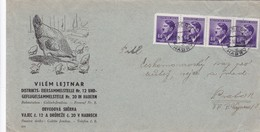 Böhmen Und Mähren - Brief Aus Habrech  1942 - Covers & Documents