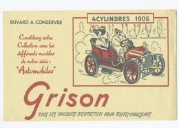 BUVARD AUTO GRISON  4  CYLINDRES 1906--  Z900 - Automotive