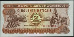 MOZAMBIQUE - 50 Meticais 16.06.1980 {República Popular De Moçambique} UNC P.129 B - Mozambique