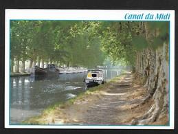 Péniche Bateau Canal Midi / CPSM - Houseboats