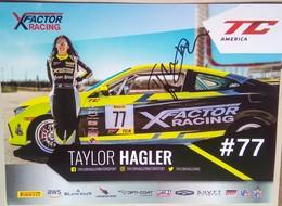 Taylor Hagler - Handtekening