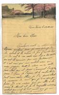 CHINE - Lettre Correspondance écrite De TIENTSIN Le 29/12/1935 - Belle Illustration En Début De Page - Historical Documents