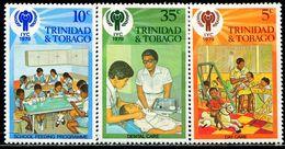 AL0676 Trinidad And Tobago 1979 International Year Of The Child Game Medical, Etc. 3VMNH - Trinidad & Tobago (1962-...)