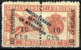 Arruecos Español Nº 67 Con Charnela - Spanish Morocco