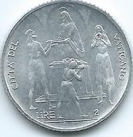 Vatican City - Paul VI - 1968 - 2 Lire - FAO - KM101 - Vatican