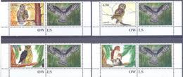2019. Tajikistan, Owls Of Tajikistan, 4v Perforated With Labels, Mint/** - Tayikistán