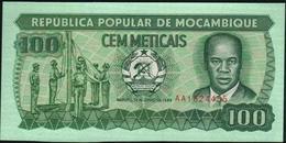 MOZAMBIQUE - 100 Meticais 16.06.1989 {República Popular De Moçambique} UNC P.130 C - Mozambique