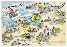 CPSM Dentelée Glacée 10.5 X 15 Homualk Les Provinces Françaises... Normandie - Pays D'Auge Sans Le Pont De Tancarville - Homualk