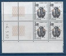 """FR Coins Datés Taxe YT 111 """" Coléoptère """" Neuf** Du 4.5.82 - Impuestos"""