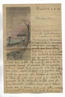 CHINE - Lettre Correspondance écrite De  TIENTSIN   Le 03/08/1934 - Belle Illustration En Début De Page - Historical Documents