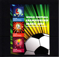 Soccer World Cup 2014 - MAYREAU - S/S MNH** - Coppa Del Mondo