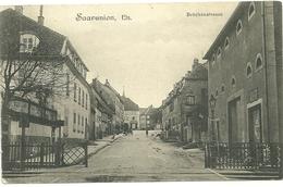 67 Cpa Saarunion Rue Du Pont Passage A Niveau - France