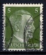 Allemagne III Reich - Germany - Deutschland 1941-43 Y&T N°708 - Michel N°784 (o) - 5p Hitler - Deutschland