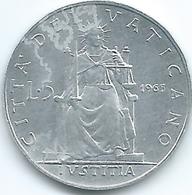 Vatican City - Paul VI - 1965 - 5 Lire - KM78.2 - Vatican