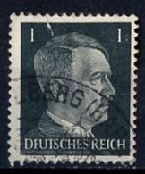 Allemagne III Reich - Germany - Deutschland 1941-43 Y&T N°705 - Michel N°781 (o) - 1p Hitler - Deutschland