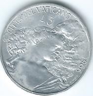Vatican City - Paul VI - 1966 - 5 Lire - KM86 - Vatican