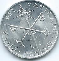 Vatican City - Paul VI - 1967 - 5 Lire - KM94 - Vatican