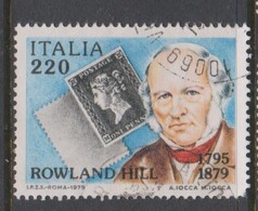 Italy Republic S 1480 1979 Rowland Hill,,used - 1971-80: Used
