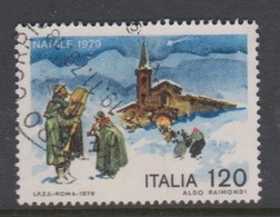 Italy Republic S 1481 1979 Christmas,Used - 1971-80: Used