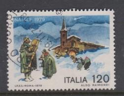 Italy Republic S 1481 1979 Christmas,Used - 6. 1946-.. Republic