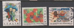 Italy Republic S 1482-1484 1979 Stamp Day,used - 6. 1946-.. Republic
