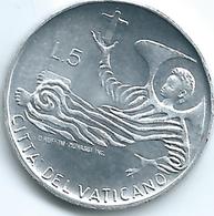 Vatican City - Paul VI - 1969 - 5 Lire - KM110 - Vatican