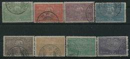 1904 Serbia, Centenario Dinastia Karageorgevich, Serie Completa Usata - Serbia